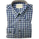 Trachten-Set (46) 4-teilig nuss Kniebundhose Hemd blau...