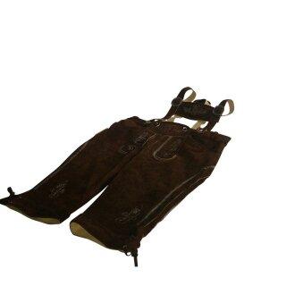 Original Trachten - Kniebundhose Fb. hasel 100% echtes Leder 56