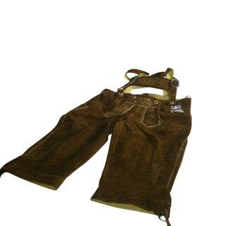 Original Trachten - Kniebundhose Fb. nuss 100% echtes Leder Gr. 44 - 60 52