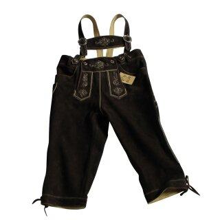 Original Trachten - Kniebundhose WILDBOCK Fb. hasel 100% echtes Leder Gr. 44 - 60