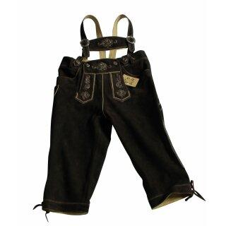 Original Trachten - Kniebundhose WILDBOCK Fb. hasel 100% echtes Leder Gr. 44 - 60 56