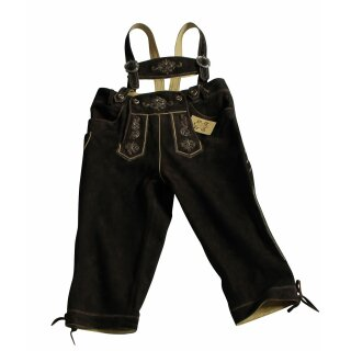 Original Trachten - Kniebundhose WILDBOCK Fb. hasel 100% echtes Leder Gr. 44 - 60 58