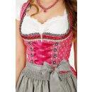 Dirndl / Kleid WILDBERRY mit Schürze Fb. pink L 50 cm