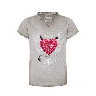 Trachten - Shirt RIKE Fb. grau